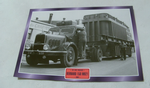 Bernard 150 MB21 1954 Truck framed picture